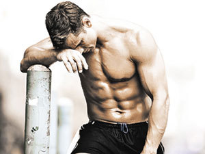 Рост мышц. Исчерпание запасов креатинфосфата и гликогена. Усталость