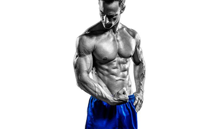Рельефные мышцы