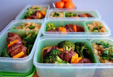 Рацион питания для роста мышц
