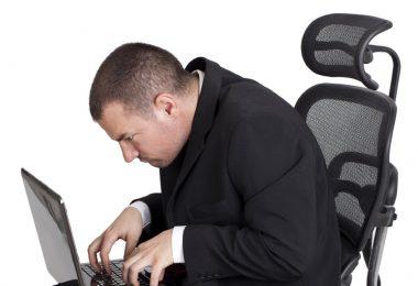 Сутулость от сидячей работы